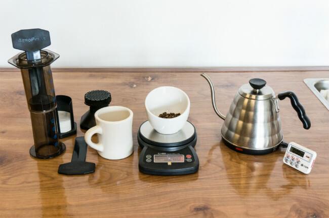 Hướng dẫn chi tiết cách pha cà phê AeroPress
