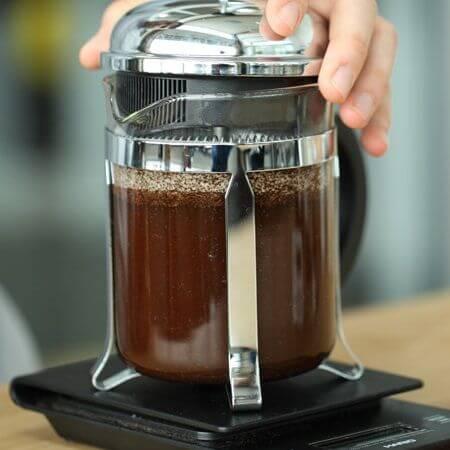 Một số trường hợp cần chú ý khi pha cà phê bằng bình French Press