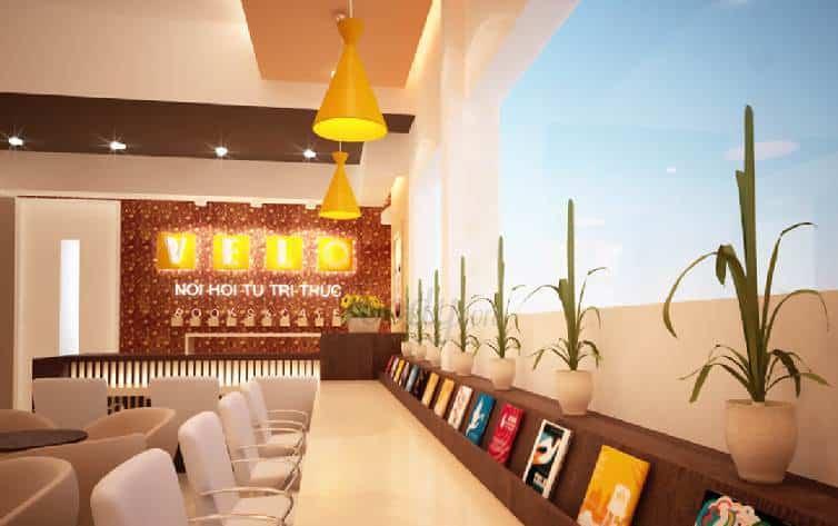 Velo book cafe sach Da Nang
