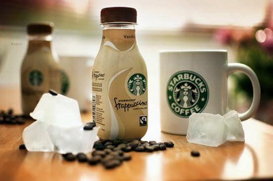 ca phe Frappuccino Starbucks